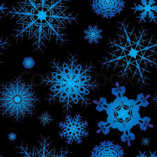 Background Black And Blue Snowflake Background Design In Blue Stock Vector Colourbox