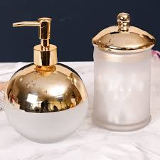 frosted glass bathroom accessories. Contemporary Frosted Glass And Gold Plated Bathroom Set By Dibor Inspiration Of Uk Accessories L