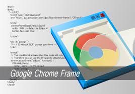 ieでchromeのエンジンが使えるプラグイン google chrome frame 安定版が公開