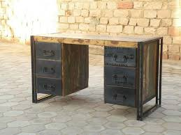 recycled file cabinet desk
