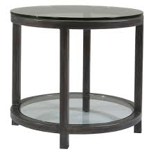adams round end table