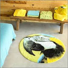 bath mats duck egg blue thick non shed quality soft circle rugs duck egg blue round