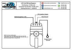 ls1 coil with igniter connector wiring a coil and distributor ls1 coil wiring diagram