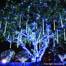 Light Source Christmas Lights Details About Multi Color 13 1ft Meteor Shower Rain Tubes 8 Led Christmas Lights Party String