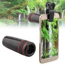 EWELL <b>12X</b> Mobile Camera <b>Telephoto Lens</b> with 12 X Power Zoom