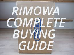 Rimowa Size Chart Rimowa Complete Buying Guide Gracefuldegrade