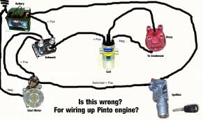 pinto wiring help needed! 4age distributor cap at 4age Distributor Wiring Diagram