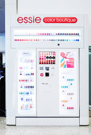 Vending Machine Near Me Cool Essie Vending Machines Are Coming To An Airport Near You InStyle