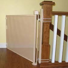 retractable safety gates for a baby