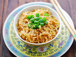 Noodles are unleavened bread made from wheat flour, water, starch, salt or kansui and other ingredients. Shirataki Sesame Noodles Recipe Healthy Recipes Blog