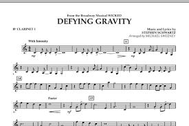 defying gravity sheet music defying gravity from wicked bb trumpet 2 by stephen schwartz