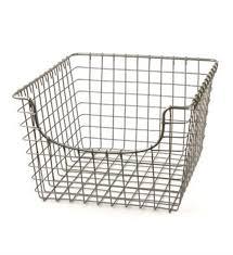Metal Wire Basket - Nickel Image  Organize-It a