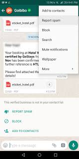 Report Business How To Block Whatsapp Business Account And Report As Spam