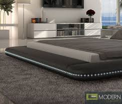 modern platform bed with lights. More Views ? Modern Platform Bed With Lights E