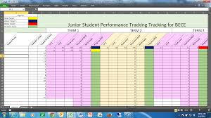 Track Progress In Excel Tracking Students Performance In A Dual Curriculum School