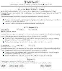 Teacher Resumes Examples Stunning Objective For Teaching Resume Teaching Objectives For Resume Sample