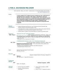 Nursing Resume Samples Nursing Resume Example Nurse Resume Template ...
