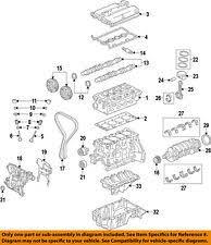 car truck engine valve covers for chevrolet sonic new listinggm oem engine valve cover 55564395 fits chevrolet sonic
