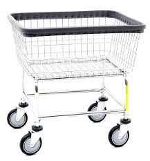 wire rolling cart narrow laundry chrome basket p n on wheels s alera 3 tier