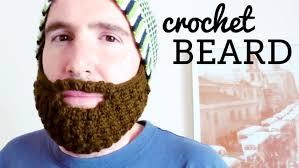 Beard Hat Crochet Pattern Cool How To Crochet A BEARD For All Hats All Sizes CROCHET LOVERS