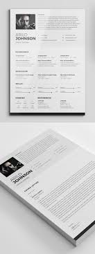21 Fresh Free Professional Cv Resume Templates Mixed Sign