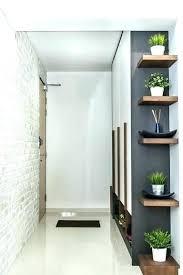 narrow entry hallway ideas small narrow