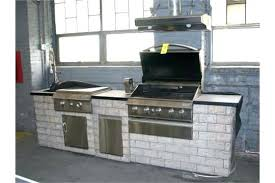 outdoor built in griddle grand cafe kitchen gas grill with rotisserie flat home top and combo outdoor built in griddle propane