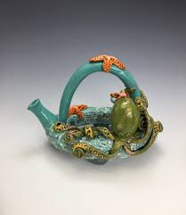Artful Home Shop Artist Made Ceramic Teapots And Art Teapots Artful Home