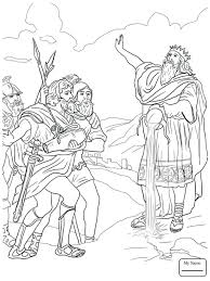 David And Goliath Coloring Page At Getcolorings Free Printable