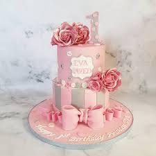 Baby Girl 1st Birthday Cakes By Mehwish