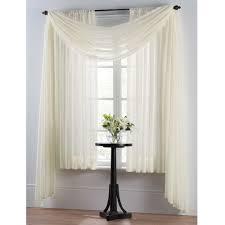 Smart Sheer™ Insulating Voile Window Curtain Panel | Window ...