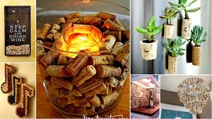 with wine corks
