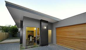 modern wood garage door. Applying Earthquake Home Design : Minimalist Modern With Wooden Garage Door Wood