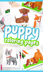 You can easily print or download them at your convenience. Puppy Coloring Pages For Kids