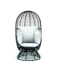 wicker swivel chair patio rocker rattan replacement cushions middletown outdoor club with cushion rocking base desk