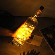 String Light Wine Bottle Amazon Com Archi 20 Led Bottle Cork String Lights Wine