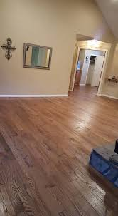over time a hardwood floor finish begins to dull and can show signs of wear such as scratches in the finish