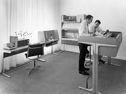 open layout office. A 1960s Escape From The Vast Open Office Layout. Layout