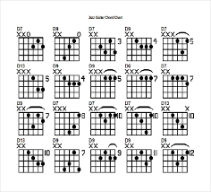 15 Word Guitar Chord Chart Templates Free Download Free