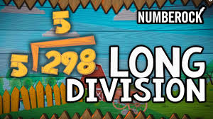 long division anchor chart numberock