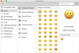 how to type accents emoji and symbols on your mac