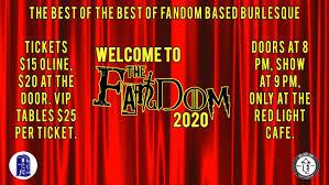 Red Light Ticket Atlanta Ga Wtf Welcome To The Fandom Nerdlesque 2020