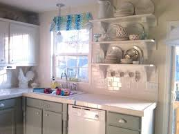 General Finishes Milk Paint Kitchen Cabinets White Portia Double