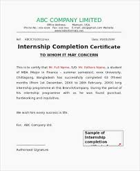 Sample Certificate For Completion Or Best It Certifications Lovely