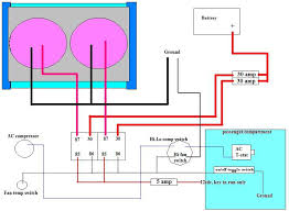electric fan wire diagram wiring diagram for dual fans hot rod forum hotrodders bulletin this image has been resized click