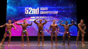 Asian bodybuilding and fitness championships