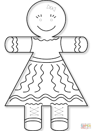 gingerbread girl coloring pages. Delighful Girl Click The Gingerbread Girl Coloring Pages  Intended Coloring Pages N