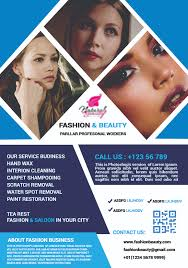 Beauty Flyer Design See Outlook