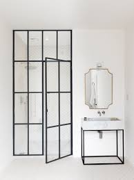 steel frame doors. The En Suite Master Bath Is So Linear, It Looks As If Maclean Drew Steel Frame Doors E
