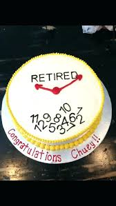 Police Officer Retirement Cake Ideas For Dad The Best Cakes On Clock